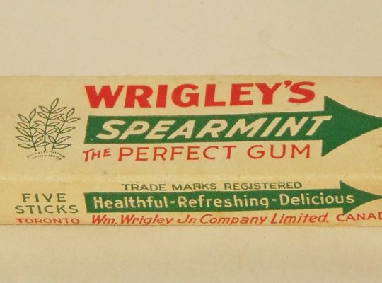 chewing gum information